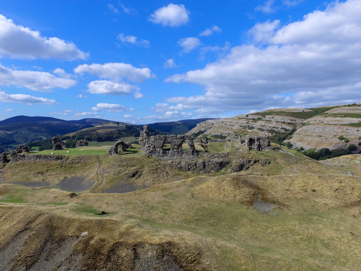 Dinas Bran The City Of Ravens